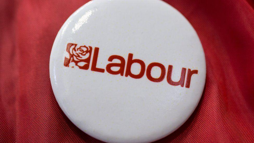 Labour party badge