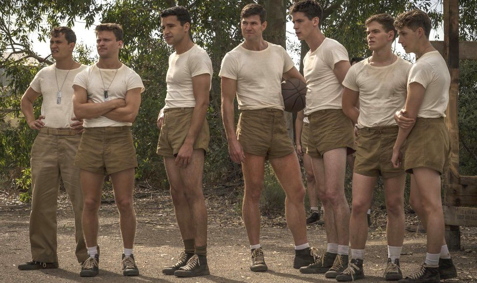 The cast of Catch 22