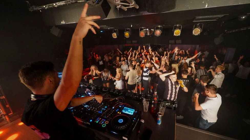 Pryzm nightclub in Brighton on 19 July
