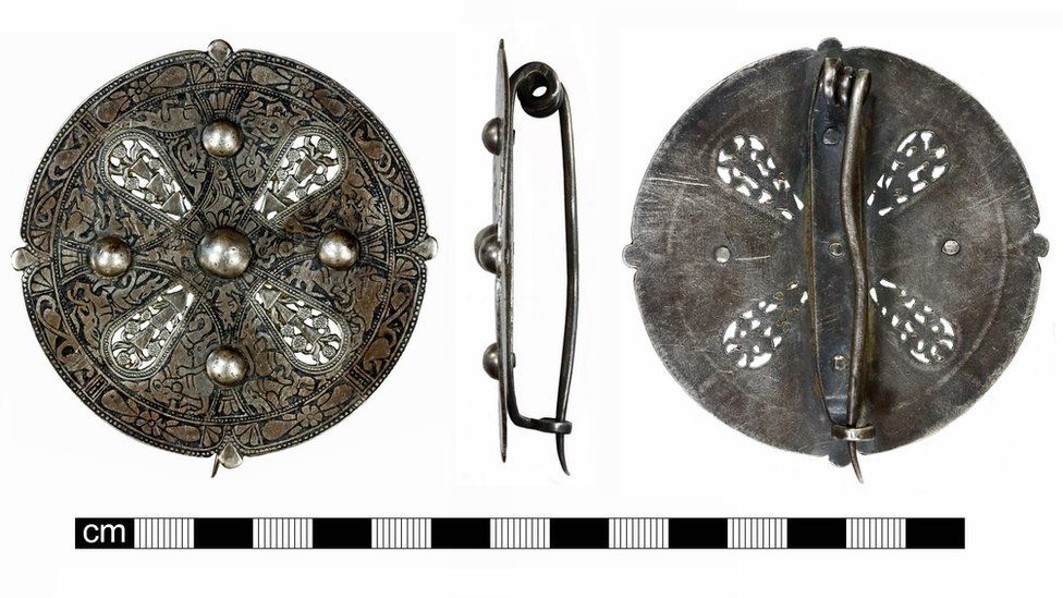 Norfolk discovery of 1,100-year-old brooch 'will remain a mystery'