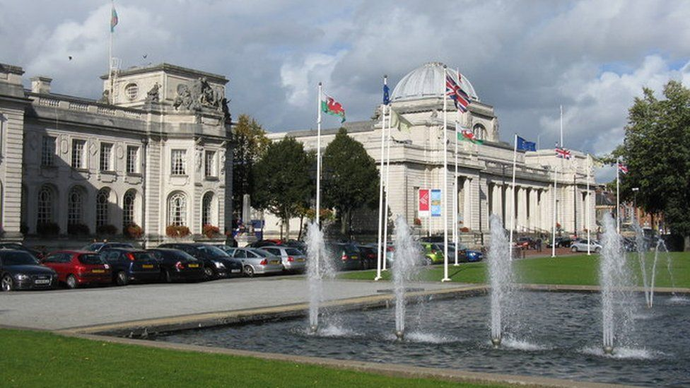 City Hall in Cardiff