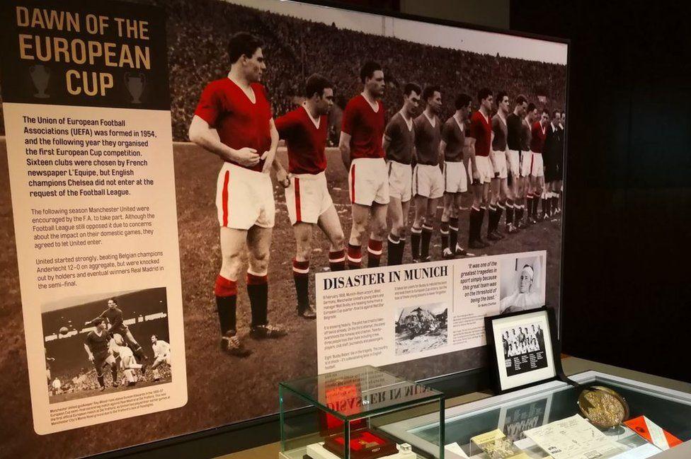 European Cup exhibit