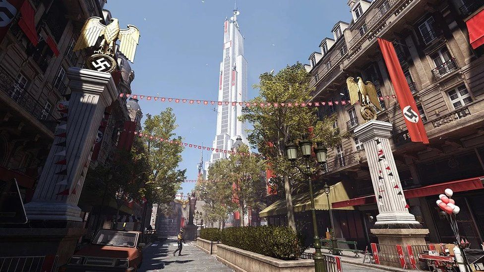 The alternative, Nazi-controlled Paris featured in Wolfenstein: Youngblood