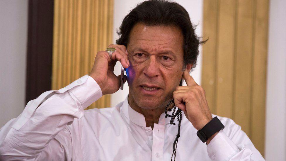Imran Khan on 11 April 2016