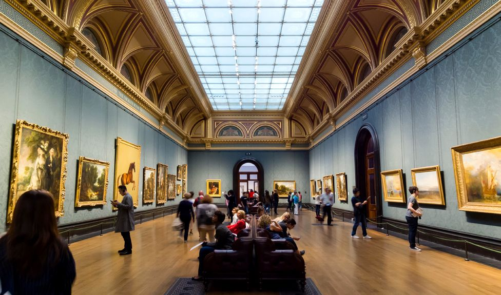 The Sackler Room at London's National Gallery