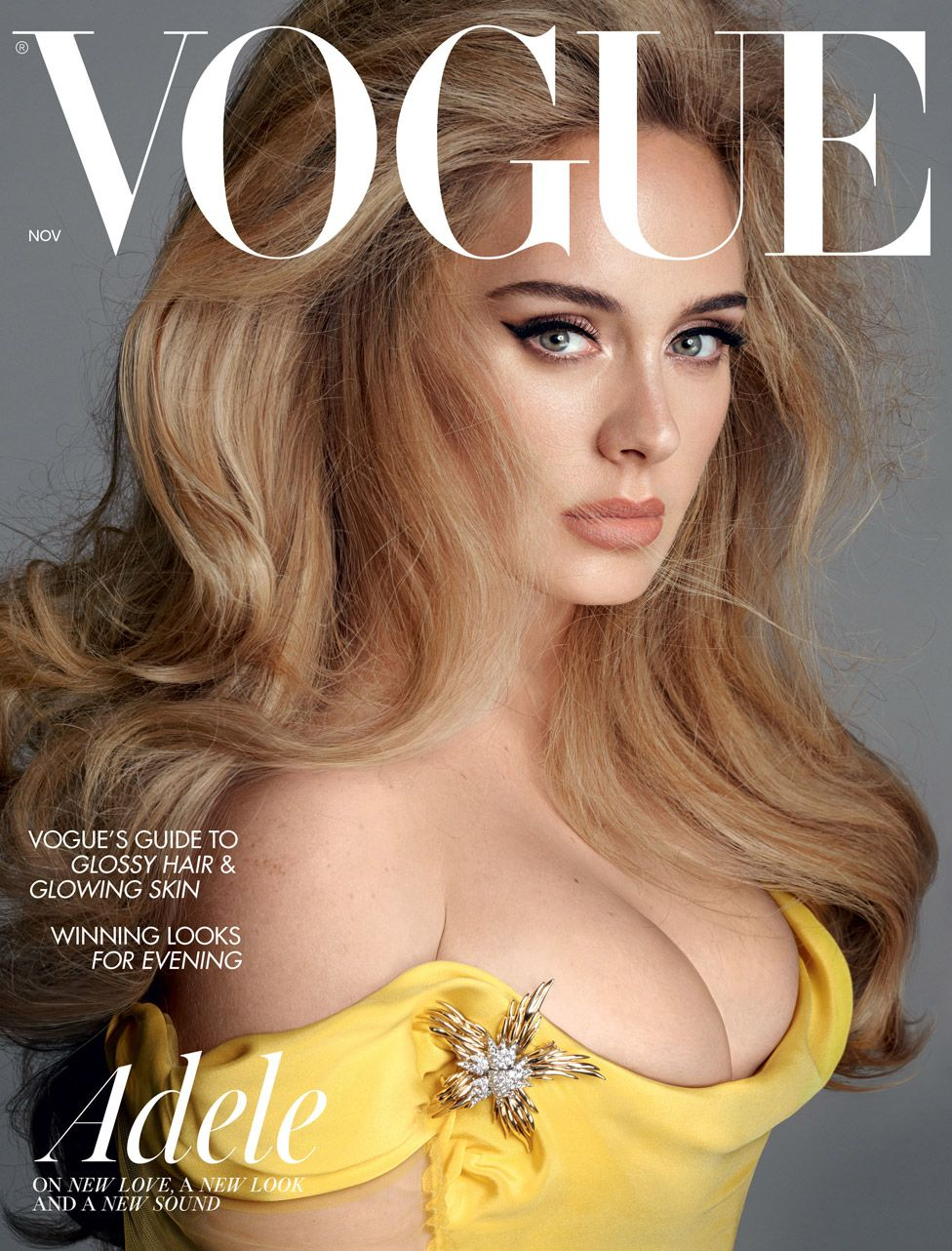 Adele on the cover of Vogue