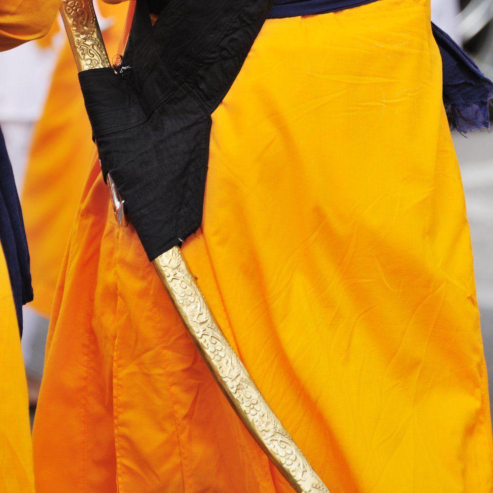 An example of a Kirpan