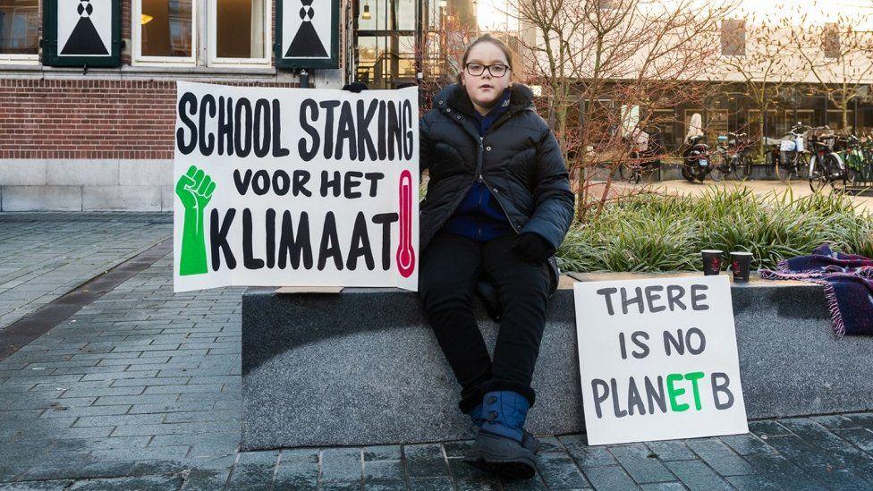Climate activist Lilly Platt