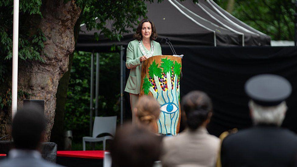Mayor Femke Halsema