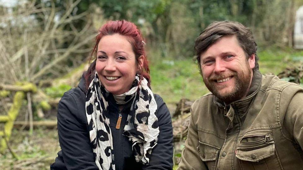 Kira Emslie and Jonathan Ashby