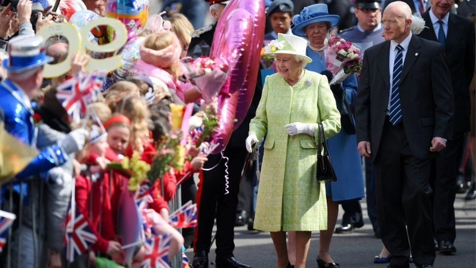 The Queen in Windsor