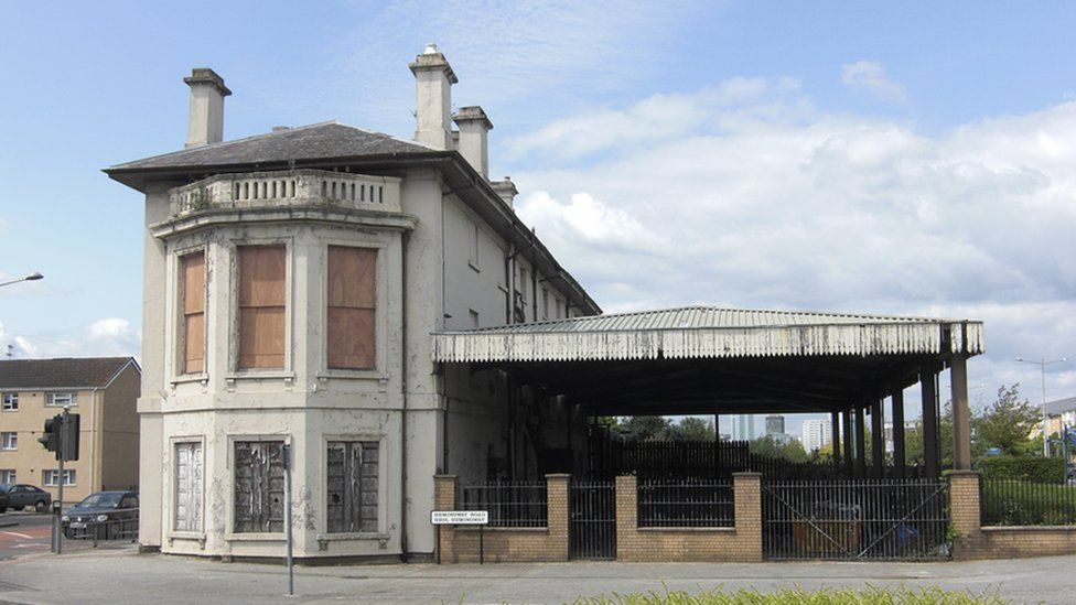 Old Bute Street Station in Cardiff