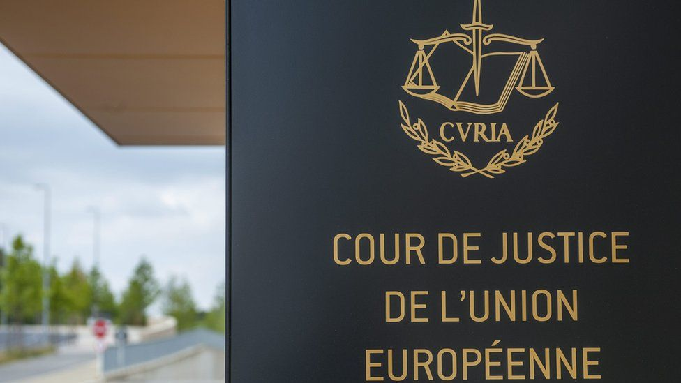 European Court of Justice (ECJ) in Luxembourg