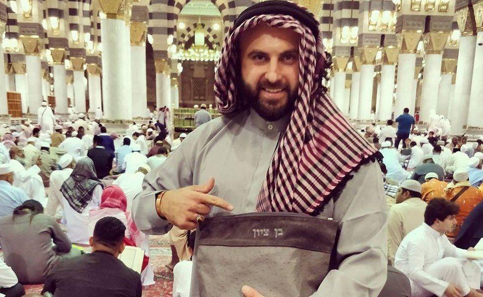 Facebook photo of Ben Tzion in Medina