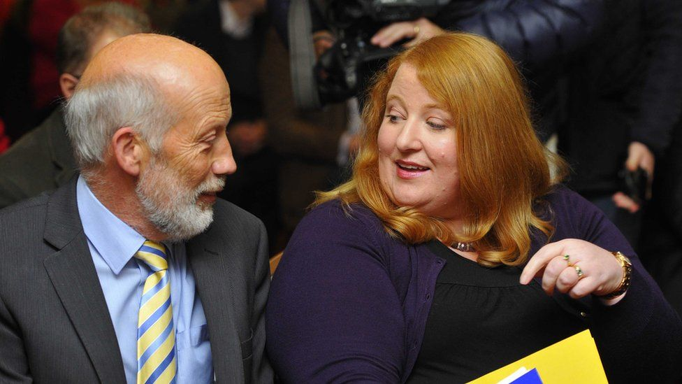 David Ford and Naomi Long