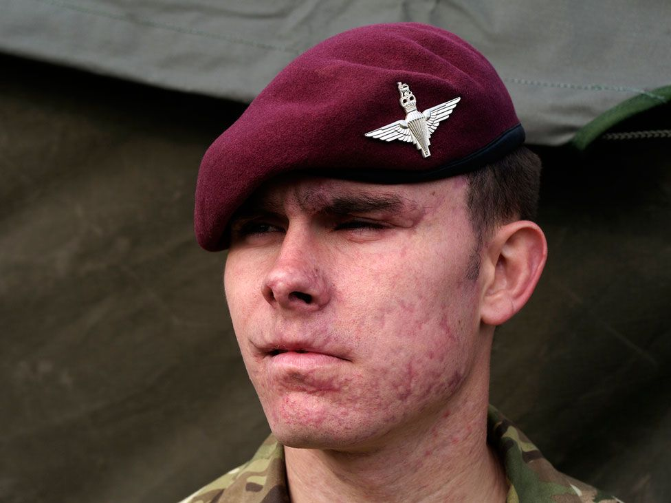 Terry Jones in the army