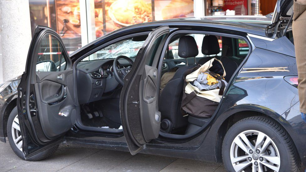 The car used by the attacker