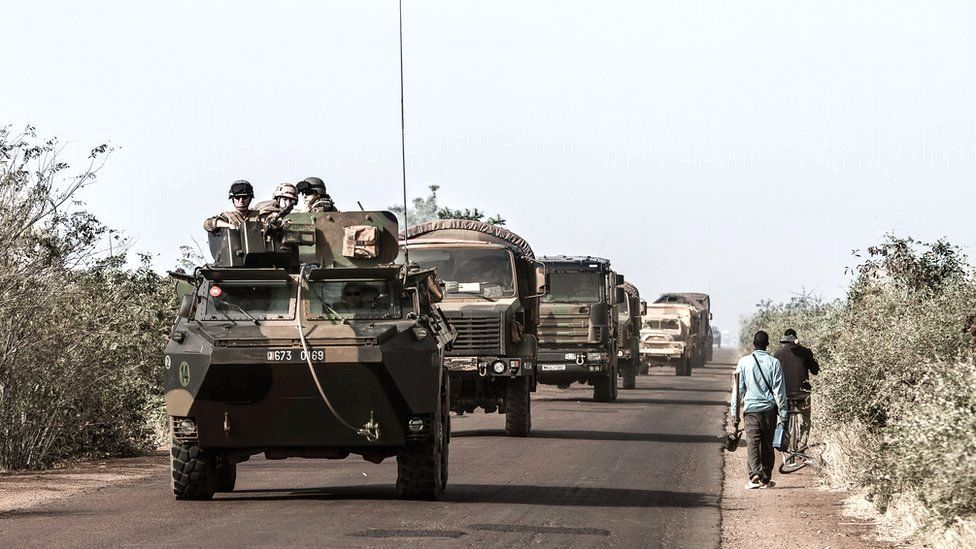 Mali, West Africa, during the ongoing French intervention against Islamist and tribal rebels in the north of the country, 1 February 2013