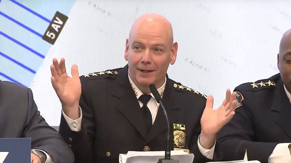 Police Commissioner James O'Neill