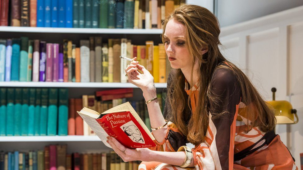 Lily Cole in The Philanthropist