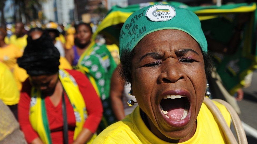 Fan of Jacob Zuma