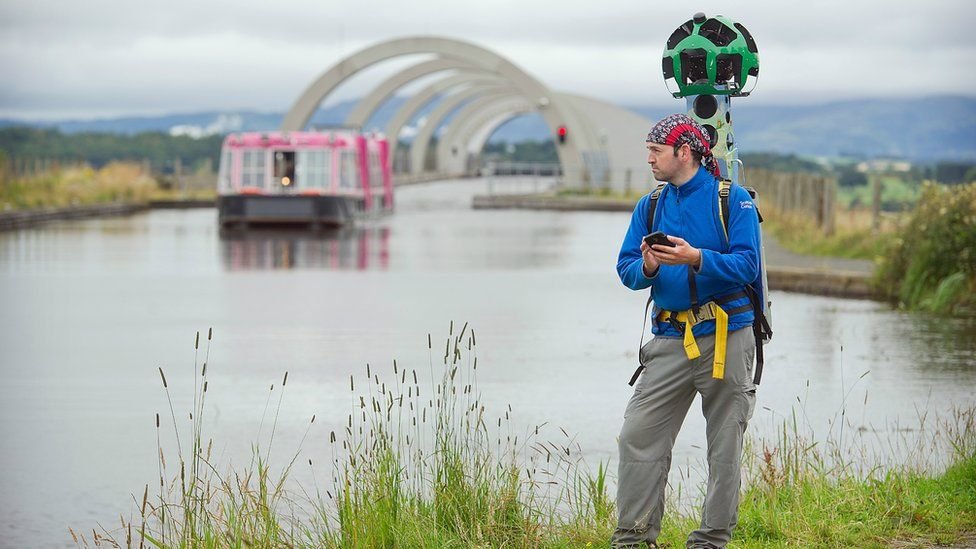 Mapping the Scottish canals