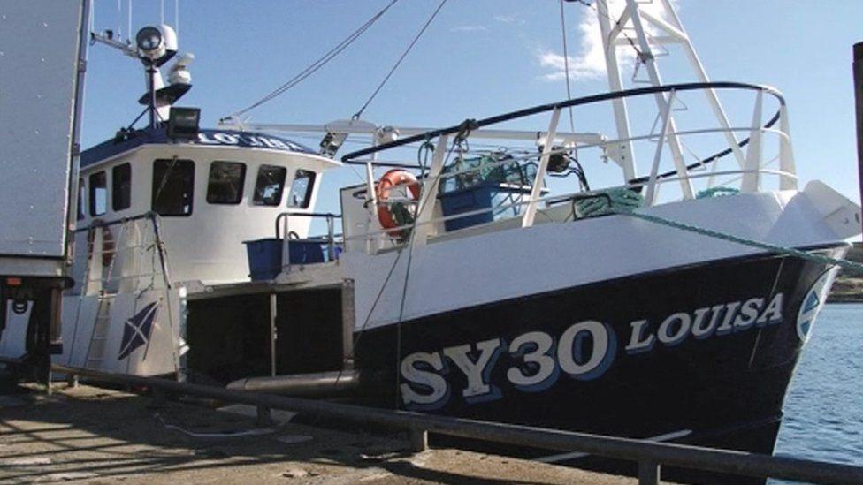 Crab boat Louisa