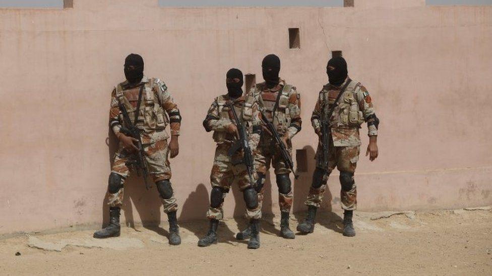 Pakistan security forces (file photo, June 2015)