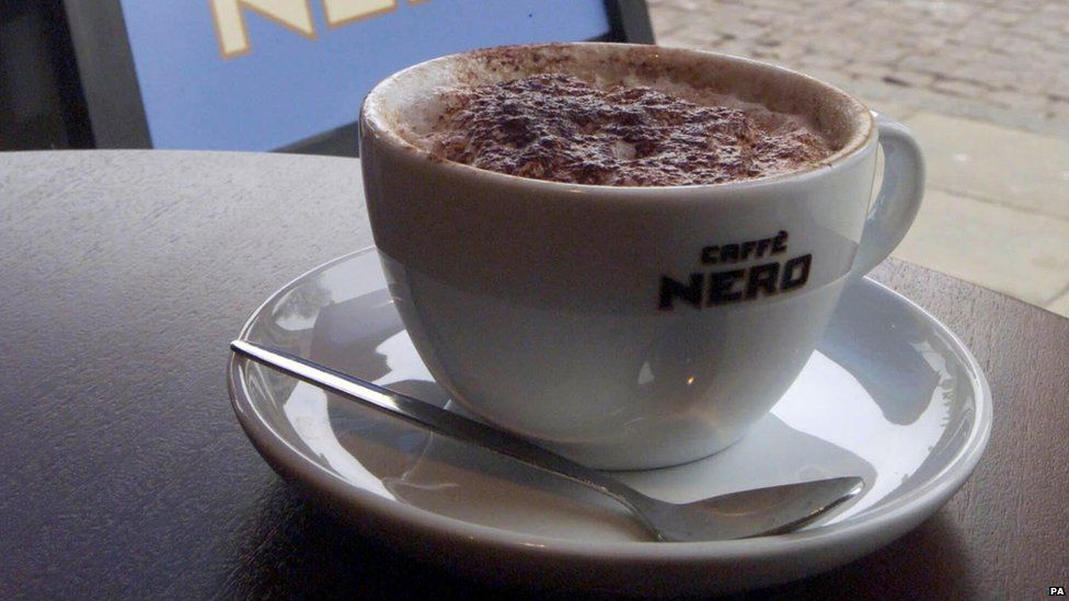Caffe Nero coffee cup
