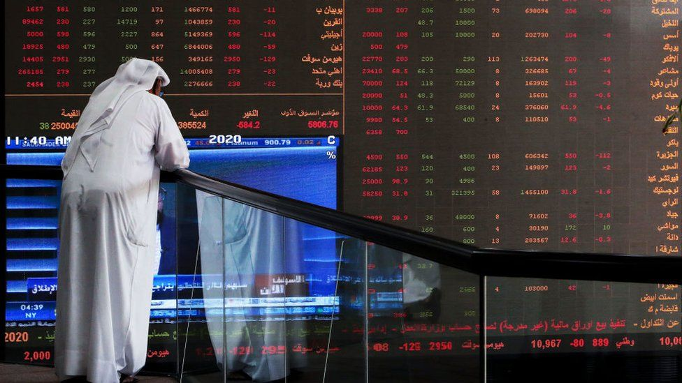 Global oil prices fall