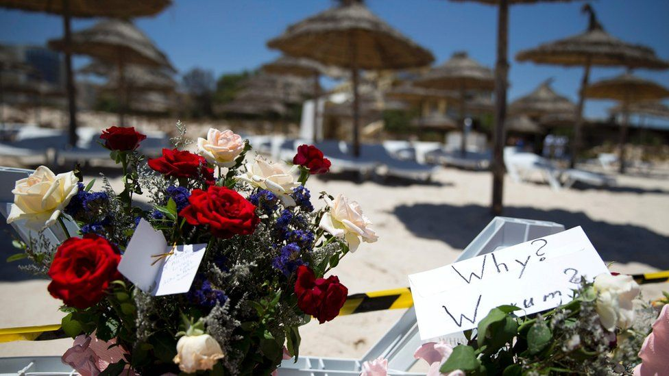 flowers at Sousse beach