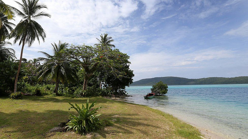 File image of Tavanipupu in the Solomon Islands