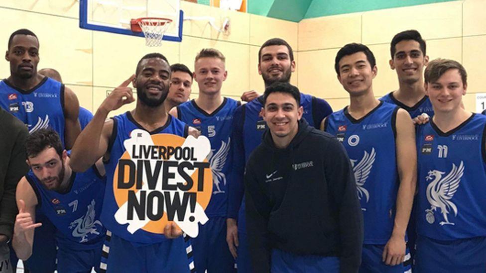 University of Liverpool basketball team