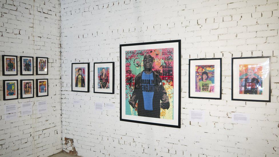 An exhibition at Leeds City College, featuring work by artists from East Street Arts