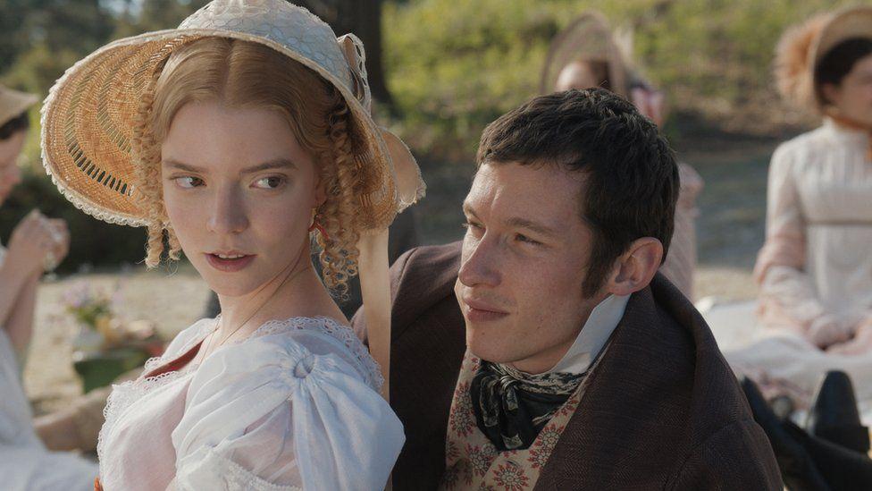 Callum Turner and Anya Taylor-Joy