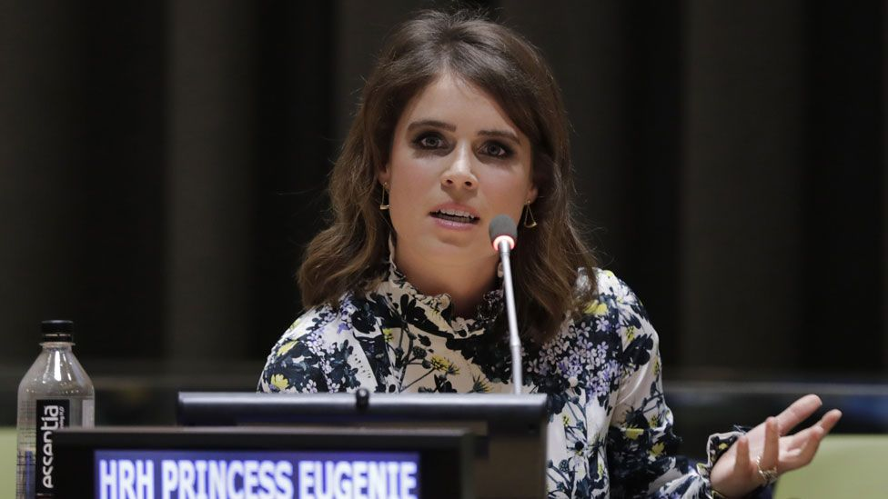 Princess Eugenie at the UN in New York City