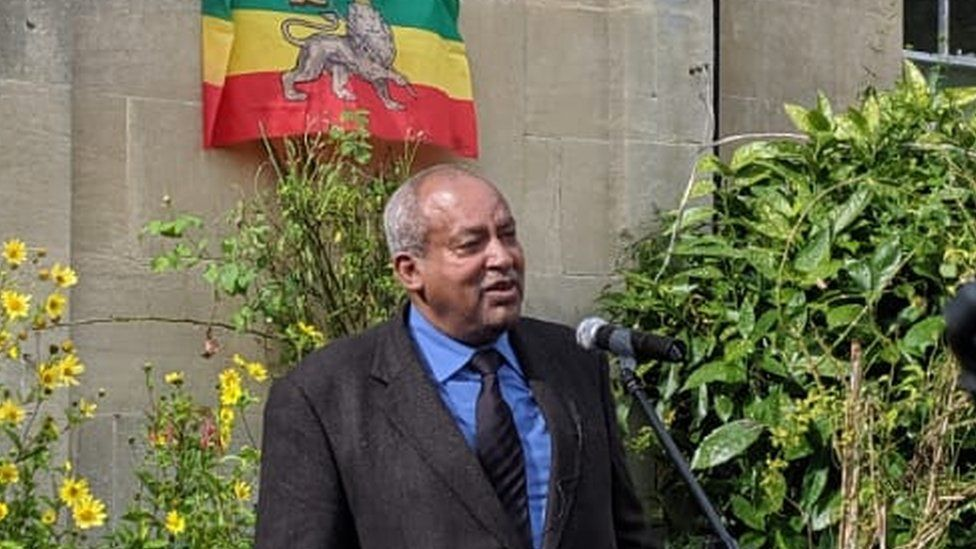 Haile Selassie's grandson Prince Michael Mekonnen