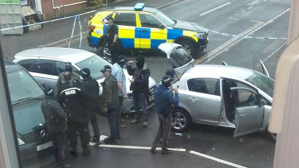 Police in Canford Cliffs