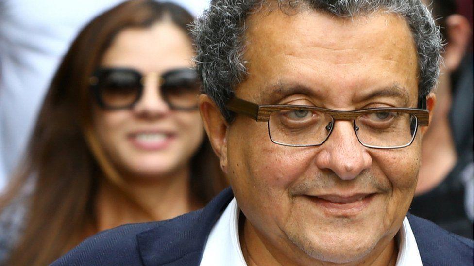 "Joao Santana, Brazilian President Dilma Rousseff""s campaign chief and his wife Monica Moura 23 February 2016"