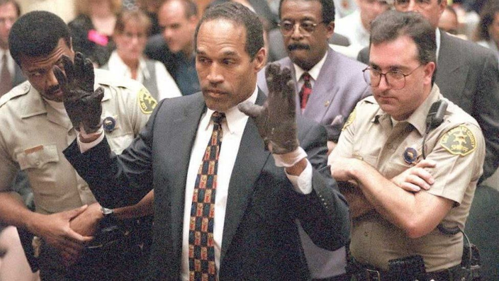 'If the glove doesn't fit, you must acquit', his lawyer argued