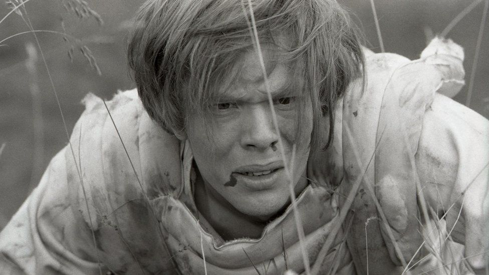 Michael Gothard played the part of the son, Kuno