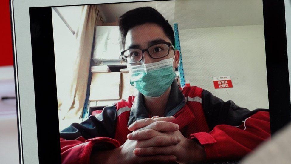JD delivery driver Jia Shengzhi