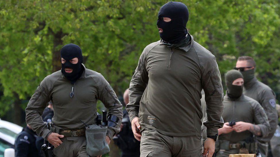 Forças de segurança procuram Conings em 20 de maio