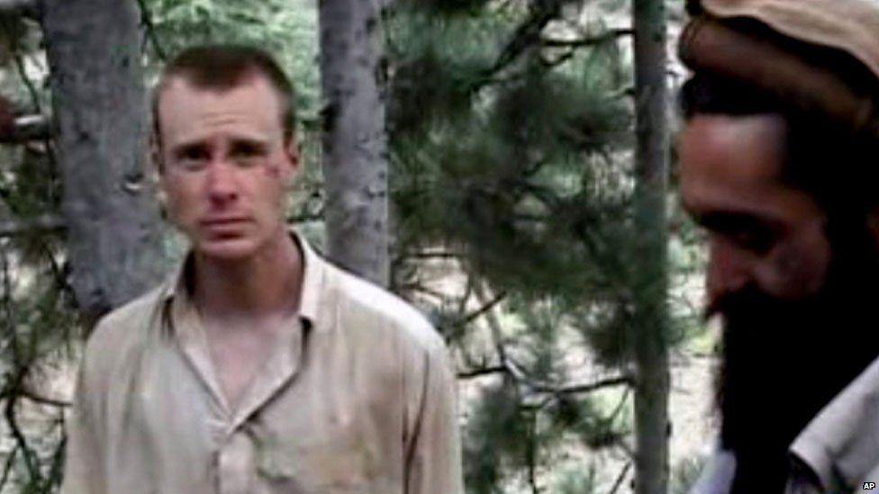 Bowe Bergdahl in captivity