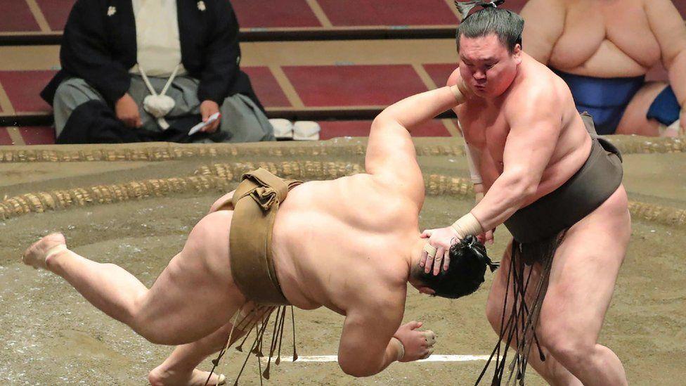 World s Biggest Sumo Wrestler