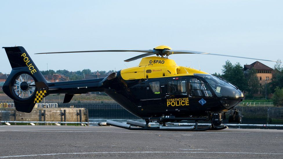 Eurocopter EC135 helicopter