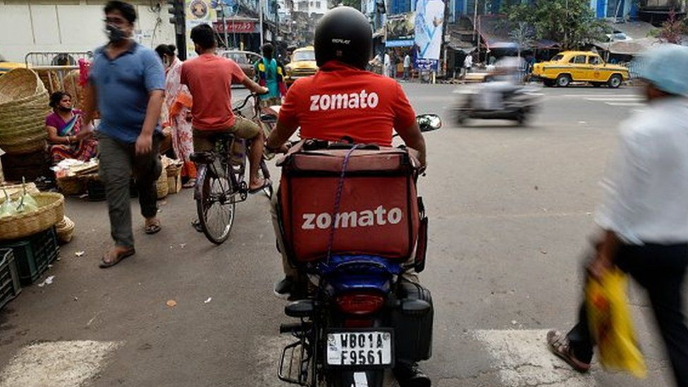 Zomato IPO: India food delivery 'unicorn' opens $1.2bn offering thumbnail