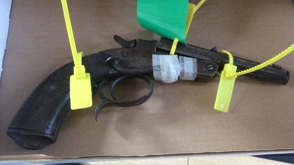 Gun used by David Nurse