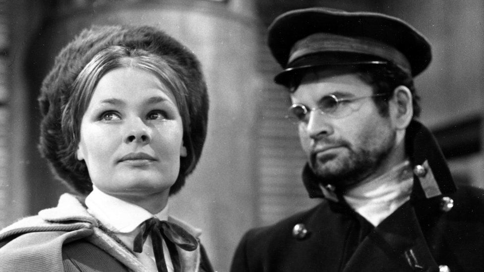 Judi Dench and Ian Holm in The Cherry Orchard