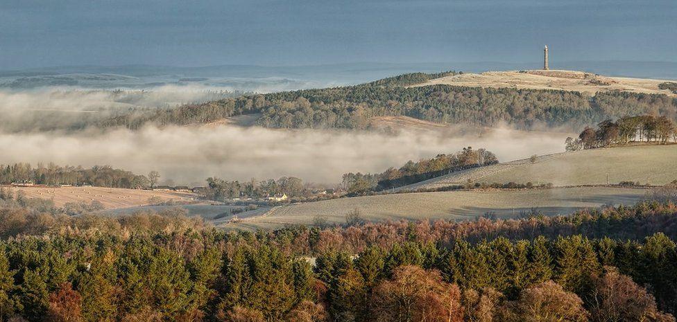 Landscape near Jedburgh